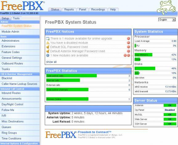 toip-open-source freepbx
